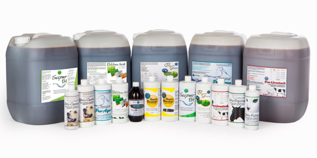 Efficient Microbes Product Range